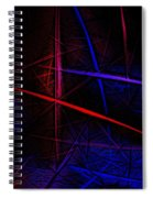 Abstract 081410 Spiral Notebook