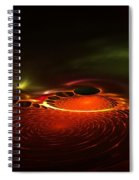 Abstract 081410a Spiral Notebook