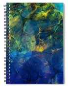 Abstract 081610 Spiral Notebook