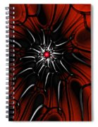 Abstract 082110 Spiral Notebook