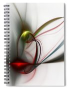 Abstract 082610 Spiral Notebook