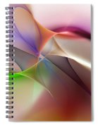 Abstract 082710 Spiral Notebook
