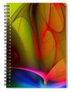 Abstract 082910 Spiral Notebook