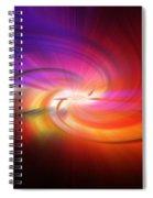 Abstract 0902 D Spiral Notebook