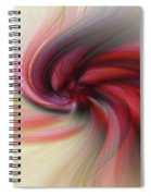 Abstract 0902 K Spiral Notebook
