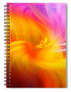 Abstract 0902 L Spiral Notebook