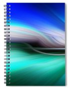 Abstract 0902 M Spiral Notebook