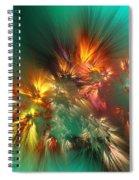 Abstract 090710a Spiral Notebook
