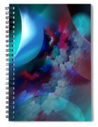 Abstract 0971711 Spiral Notebook