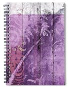 Abstract 1 Spiral Notebook