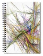 Abstract 10-16-09-2 Spiral Notebook