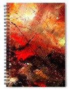 Abstract 100202 Spiral Notebook