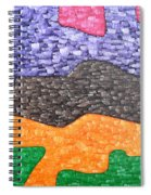 Abstract 102 Spiral Notebook