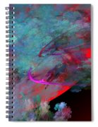 Abstract 102210 Spiral Notebook