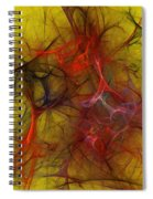 Abstract 103110 Spiral Notebook