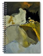 Abstract 110111 Spiral Notebook