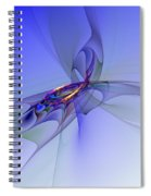 Abstract 110210 Spiral Notebook