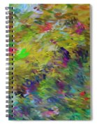 Abstract 111510 Spiral Notebook