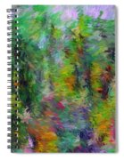 Abstract 111510a Spiral Notebook