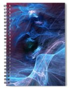 Abstract 111610 Spiral Notebook