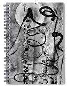 Abstract 12 Spiral Notebook