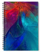 Abstract 120610 Spiral Notebook