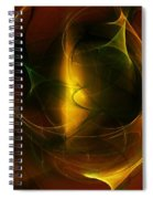 Abstract 120610a Spiral Notebook