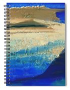 Abstract 121 Spiral Notebook