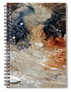 Abstract  1236 Spiral Notebook