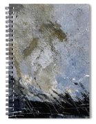 Abstract 135 Spiral Notebook