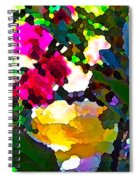 Abstract 140 Spiral Notebook