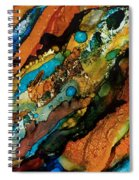 Abstract 17 Spiral Notebook