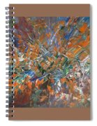 Abstract #179 Spiral Notebook