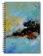 Abstract 1811803 Spiral Notebook