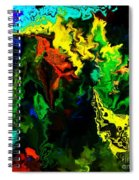 Abstract 2-23-09 Spiral Notebook