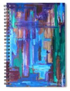 Abstract 20 Spiral Notebook