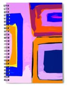 Abstract 223b Spiral Notebook