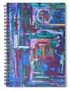 Abstract 27 Spiral Notebook