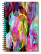 Abstract 3366 Spiral Notebook