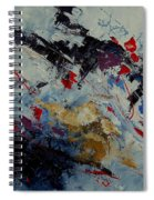 Abstract  33900122 Spiral Notebook