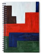 Abstract 343 Spiral Notebook