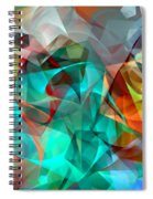 Abstract 3540 Spiral Notebook