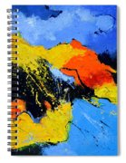 Abstract 363604 Spiral Notebook