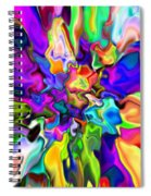Abstract 373 Spiral Notebook