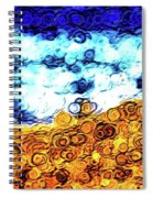 Abstract 3821 Spiral Notebook