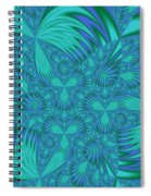 Abstract 404 Spiral Notebook