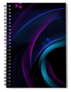 Abstract 41 Spiral Notebook