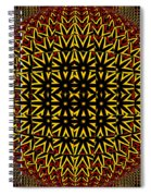 Abstract 442 Spiral Notebook