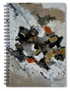 Abstract 4461201 Spiral Notebook