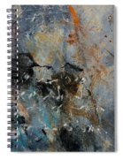 Abstract 4526987 Spiral Notebook